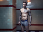 Beckham strips to underwear for H&M
