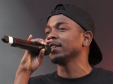 Kendrick Lamar performs on the 4Music Stage at V Festival 2013