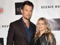 "Josh Duhamel says it was ""so sweet"" of his wife to change her surname."