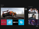Microsoft demos the new layout and Achievements, voice control and recording options.