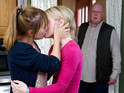Paddy stumbles upon Rhona and Vanessa's secret tonight.