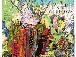 Brendan McCarthy's 'Wind in the Willows' film art