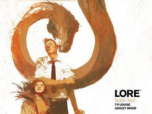 Artwork from IDW Publishing's Lore