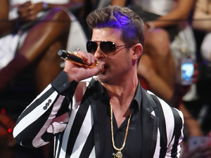 MTV VMAs: Robin Thicke and Miley Cyrus