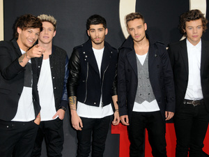 "One Direction New York Premiere of ""THIS IS US"" - red carpet arrivals"