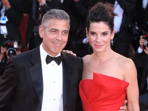 'Gravity' film premiere, 70th Venice International Film Festival, Italy - 28 Aug 2013 Sandra Bullock, George Clooney