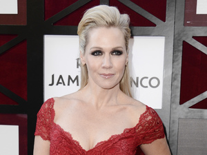 Jennie Garth arrives at the Comedy Central Roast of James Franco