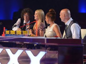 America's Got Talent: Howard Stern, Heidi Klum, Mel B & Howie Mandel