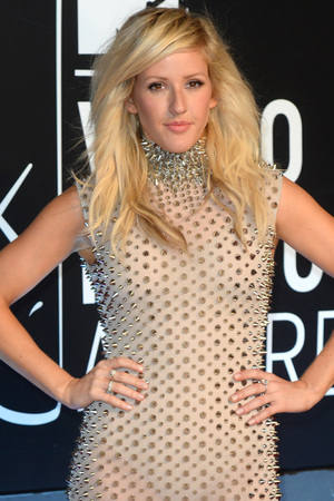 Ellie Goulding arrives at the MTV Video Music Awards 2013