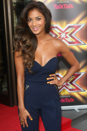 Nicole Scherzinger X Factor press launch held at The May Fair Hotel - Arrivals