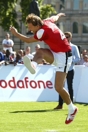 Tony Adams during the Vodafone 4G Goes Live Launch at Trafalgar Sqaure
