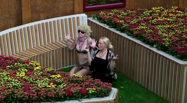 Lauren Harries, Danielle Marr, Celebrity Big Brother 2013