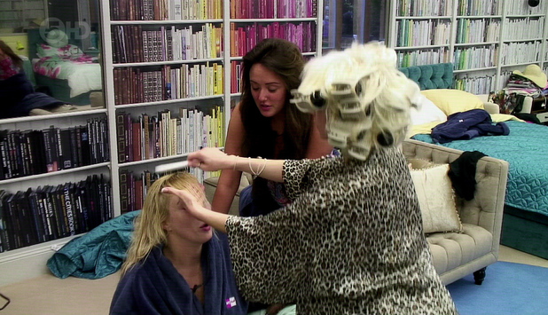 Charlotte Crosby, Courtney Stodden and Danielle Marr, Celebrity Big Brother 2013
