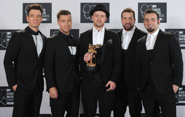 *NSYNC reunited at the MTV VMAs 2013