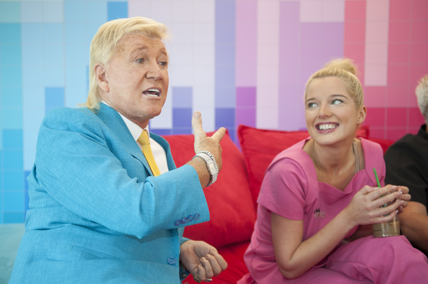 Helen Flanagan, Herbert Howe in 'Celebrity Super Spa'
