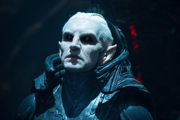 Christopher Eccleston as Malekith the Accursed in Thor: The Dark World