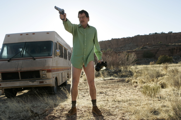 Breaking Bad S01E01: Walter White (Bryan Cranston)