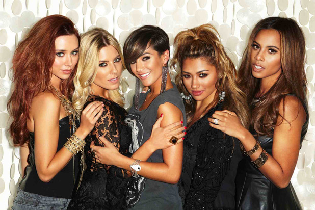 The Saturdays press shot 2013.