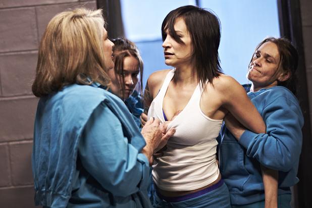 Girls in prison lesbian scene