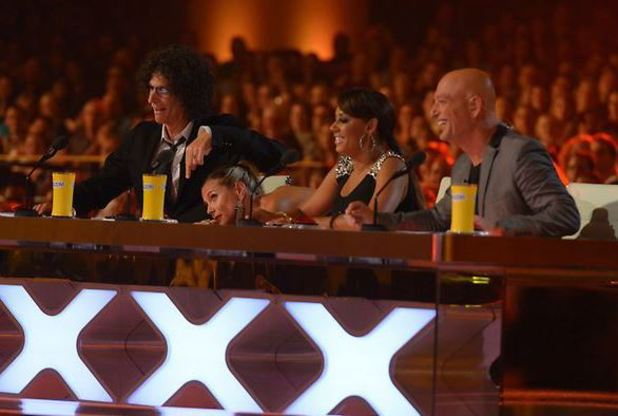 America's Got Talent: Howard Stern, Heidi Klum, Mel B, Howie Mande