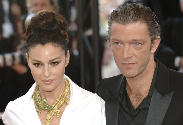 Vincent Cassel and Monica Bellucci at the Cannes Film Festival 2006.