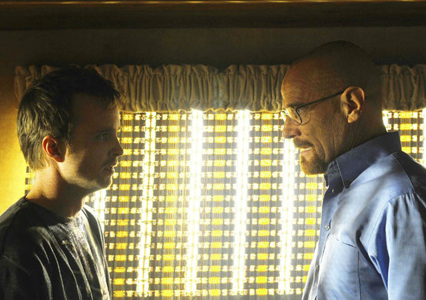 Walt and Jesse in 'Breaking Bad' season 3 episode 6 'Sunset'