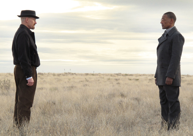 Breaking Bad S03E13: Walter White (Bryan Cranston) and Gus Fring (Giancarlo Esposito)