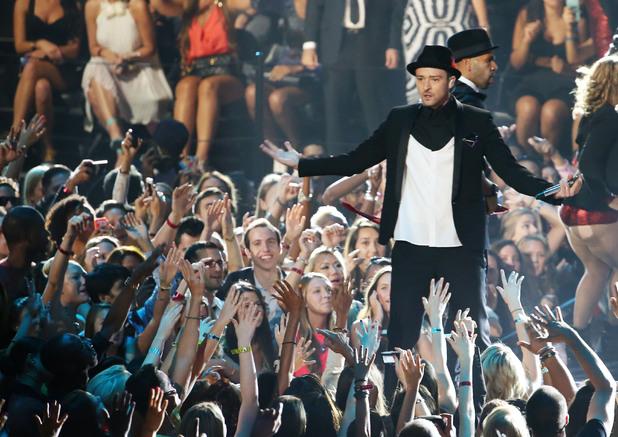 MTV VMAs: Justin Timberlake