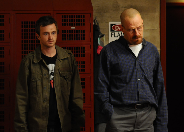 Breaking Bad S03E10: Jesse Pinkman (Aaron Paul) and Walter White (Bryan Cranston)