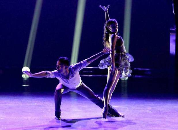 "Paul Karmiryan and Hayley Erbert perform a Contemporary routine to ""I'm Gonna Be (500 Miles)"" choreographed by Dee Caspary"
