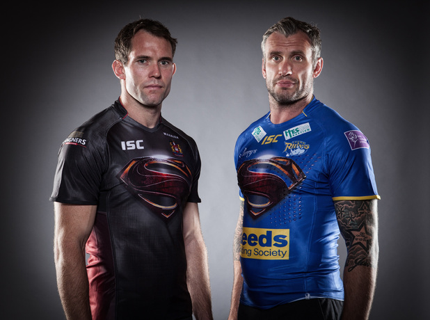 Wigan Warriors, Leeds Rhinos team up for Man of Steel
