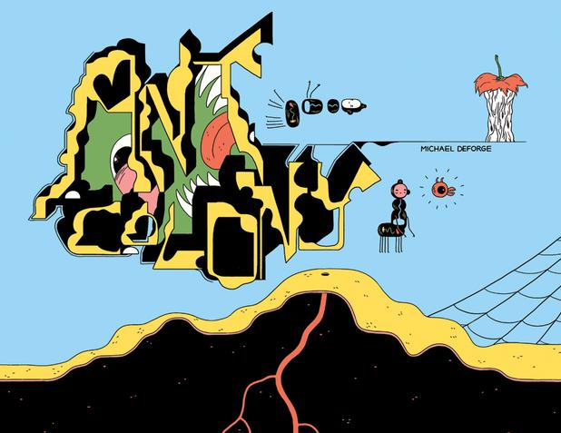 Michael DeForge's 'Ant Comic'