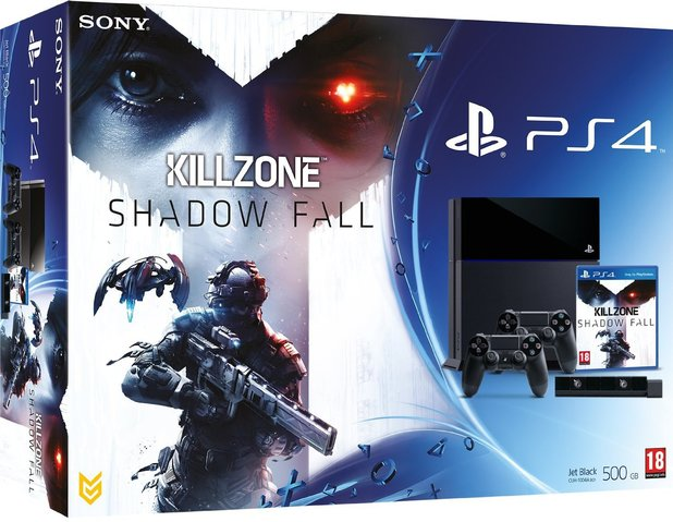Killzone: Shadow Fall PS4 bundle