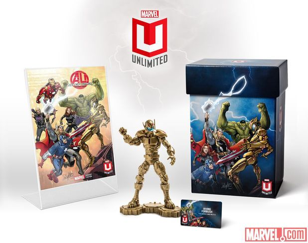 Marvel Unlimited Plus welcome pack