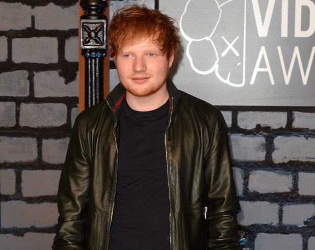 Ed Sheeran arrives at the MTV Video Music Awards 2013