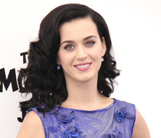Katy Perry at the LA Premiere of The Smurfs 2
