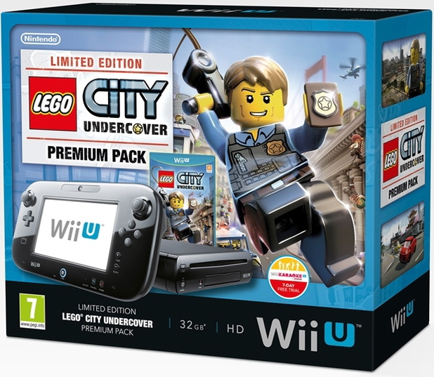 'LEGO City Undercover' limited edition Wii U bundle
