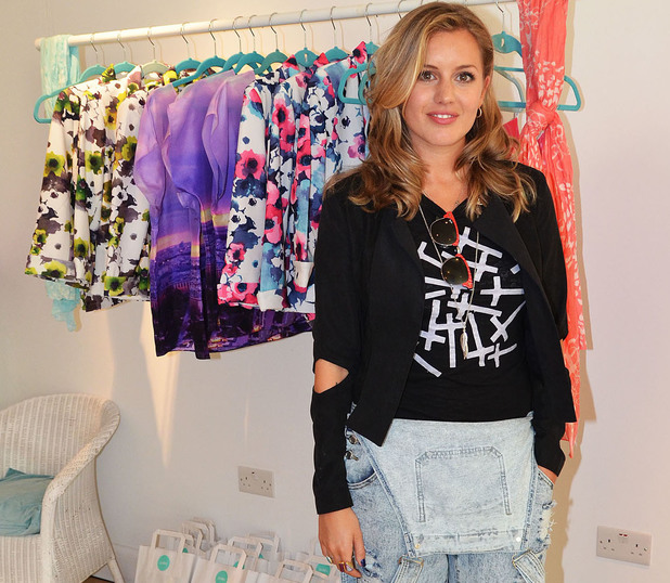 Caggie Dunlop at the Iswai pop-up shop launch on Kings Road in Chelsea