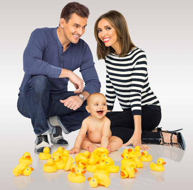 Giuliana Rancic and Bill Rancic with their son Edward Duke