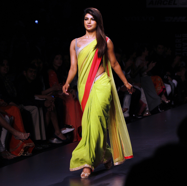 Priyanka Chopra at Lakme Fashion Week 2013