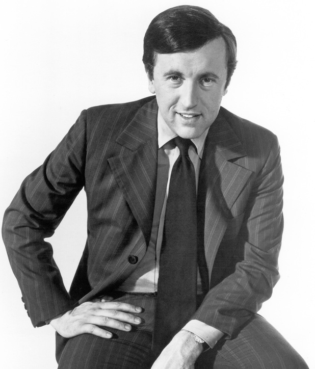 Sir David Frost, born 7 April 1939, pictured here in 1972.