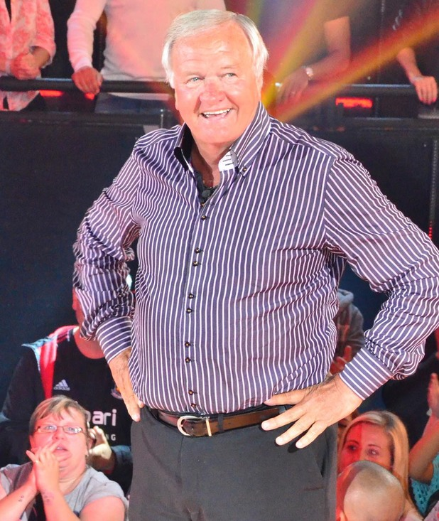 Ron Atkinson is evicted from Celebrity Big Brother.