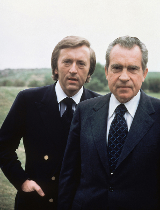 David Frost with Richard Nixon