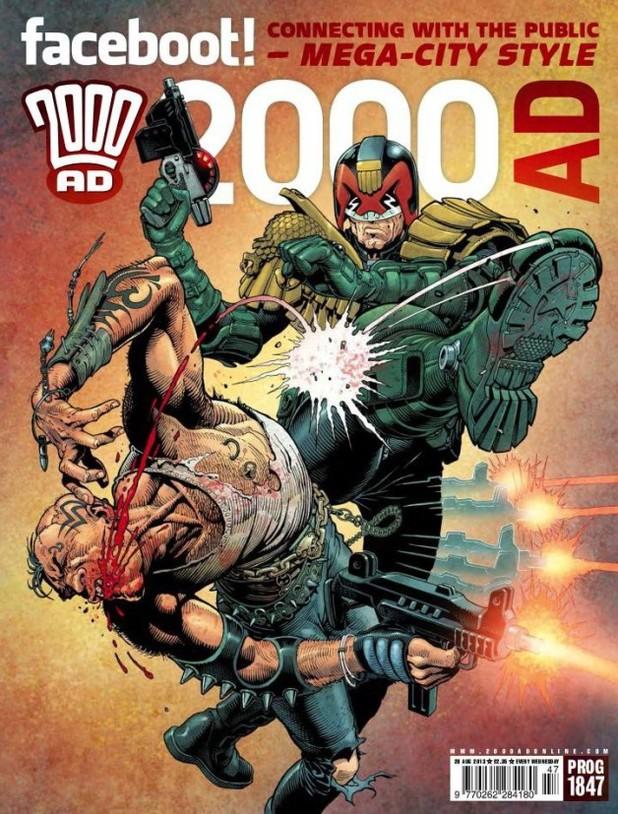 '2000 AD' Prog 1847 cover