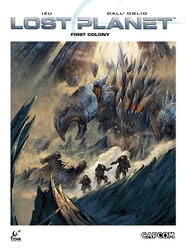 'Lost Planet: First Colony comic.