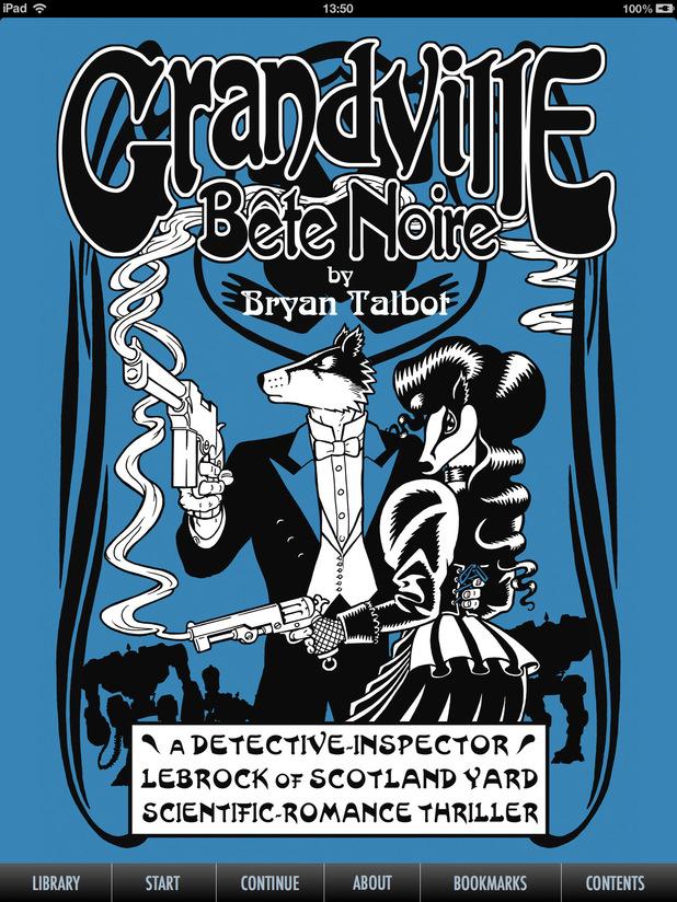 Bryan Talbot's 'Grandville: Bête Noire'
