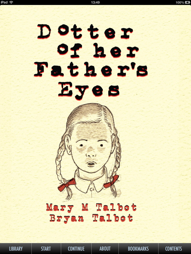 'Dotter of Her Father's Eyes'