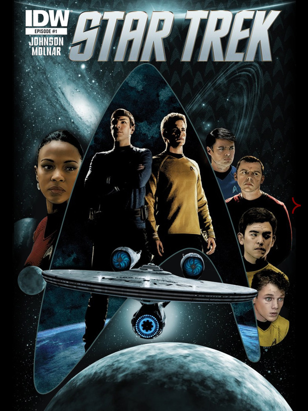 'Star Trek' #1 cover