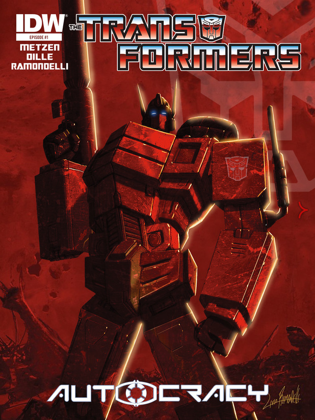 'Transformers' #1 cover