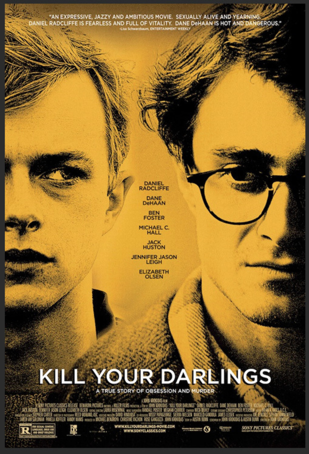 Daniel Radcliffe, Dane DeHaan on 'Kill Your Darlings' poster